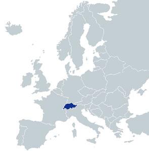 Obiective Turistice Elvetia Elvetia Hartaeuropa